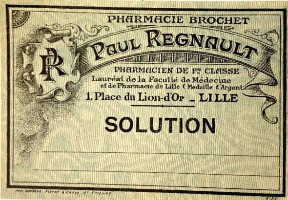 Pharmacie Regnault Lille Centre
